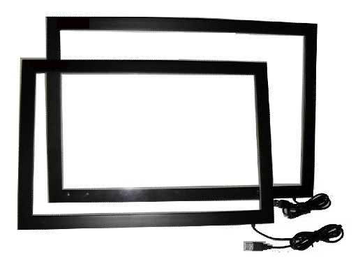 """New!!! 17"""" 2 points multi Infrared USB laptop touch screen kit, IR Touch Frame Panel, 4:3 fromat - IR Touch Panel with Glass(China (Mainland))"""