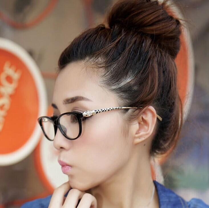 2015 new fashion Women optical acetate glasses frame brand new Lady Eyewear Feminino Vintage leopard glasses frames S38(China (Mainland))