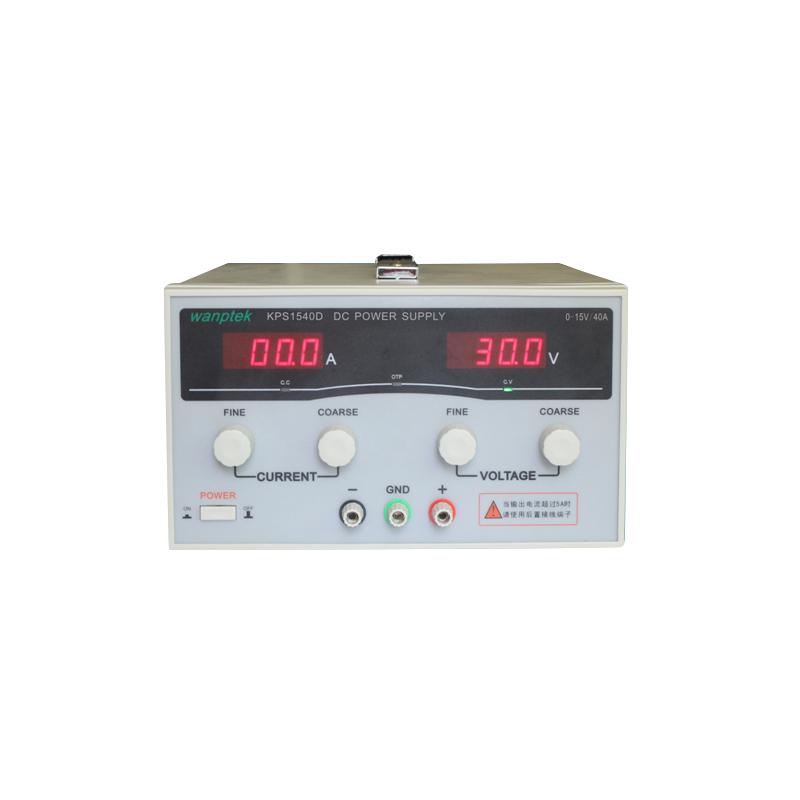 KPS1540D High precision Adjustable LED Dual Display Switching DC power supply 220V EU 15V/40A, Free shipping(China (Mainland))