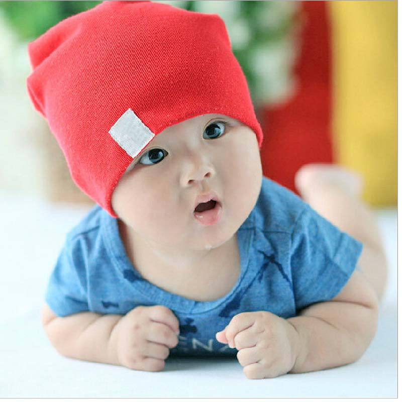 1pcs Unisex Toucas Cotton Beanie Baby Hat for New Born Cute Boy/Girl Soft Toddler Infant Cap(China (Mainland))