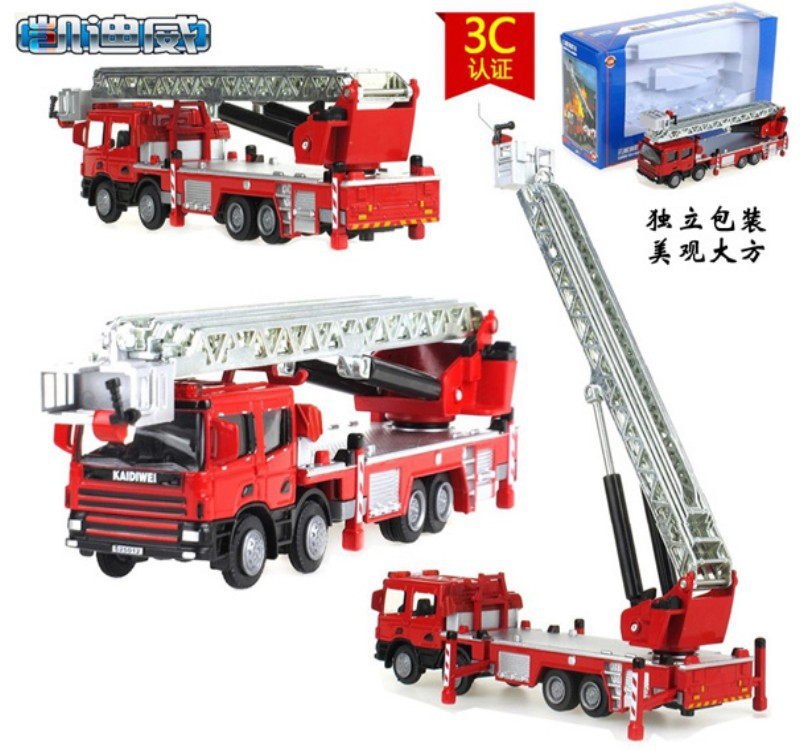 mini car model truck fire fighting truck cool baby toy best gift for children kids car toy baby favorite(China (Mainland))