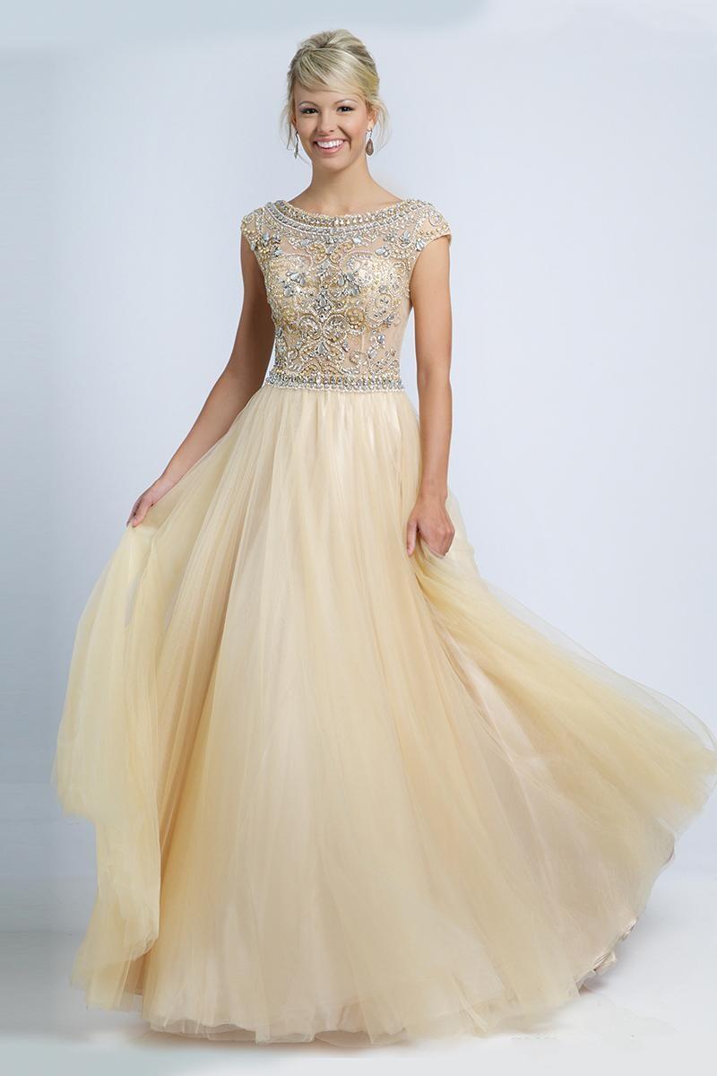 Popular Sleeved Prom Dress Custom Made-Buy Cheap Sleeved Prom ...