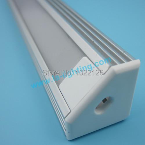 2m length Free shipping 6063 aluminum LED Track profiles(China (Mainland))