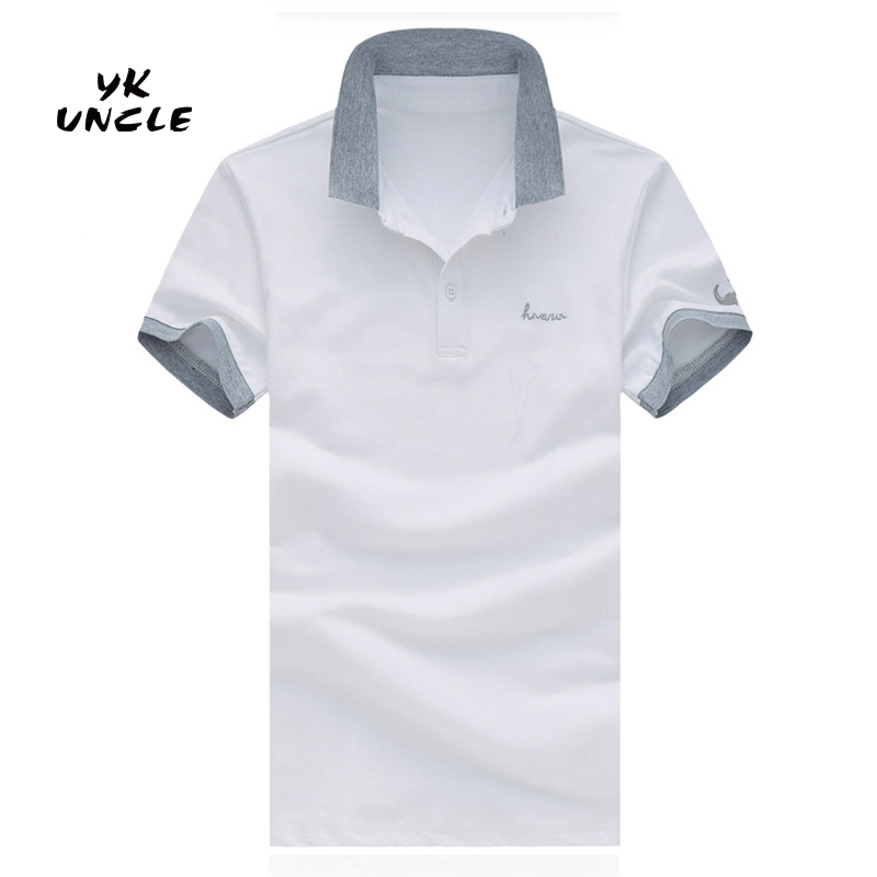 2016 Summer Brand Men's Polo Shirts Casual Cotton Short Sleeve Polos Designer Shirt Sports Jerseys Golf Tennis M-5XL,YK UNCLE(China (Mainland))
