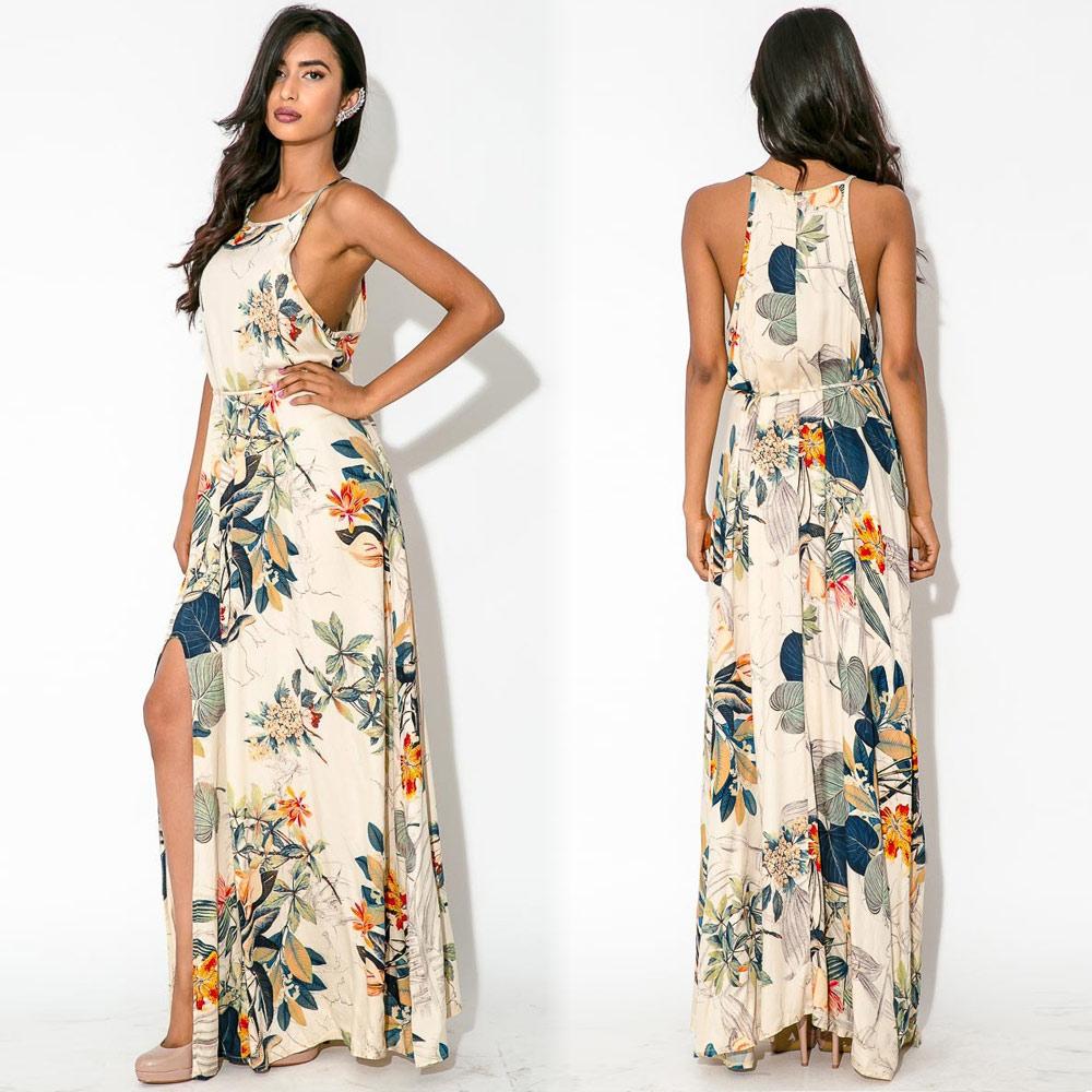 Женское платье Women Dresses 2015 o Folral Vestidos XXL