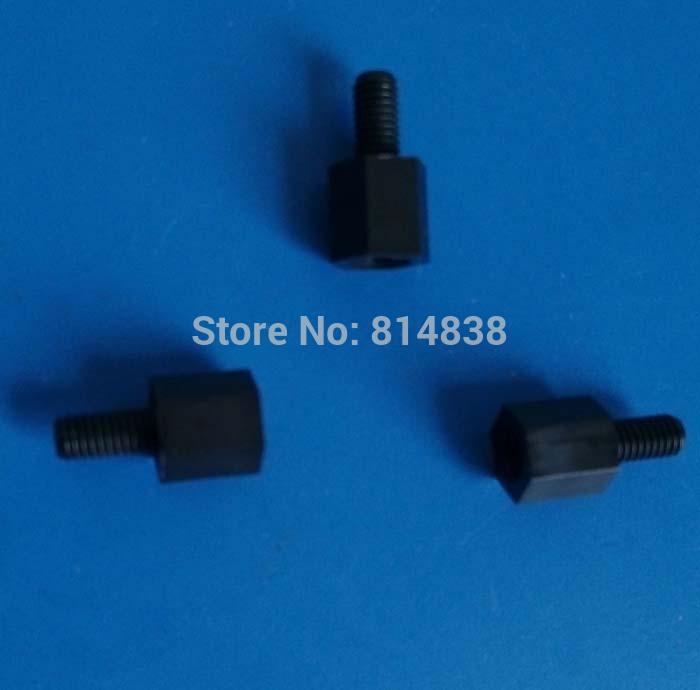 8+6 M3 Black Nylon Hex Spacers Screw Nut Standoff Plastic Accessories Assortment 1000 Pcs(China (Mainland))
