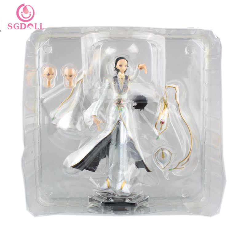 [SGDOLL] 2016 New Anime Code Geass R2 Lelouch vi Britannia 1/8 Scale PVC Figure New In Box Free Shipping 5875(China (Mainland))