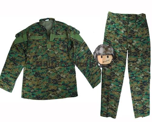 Airsoftsports Tactical Uniform Army Tactical Military Uniform Clothing Combat BDU Uniform Army Digital Woodland Camouflage