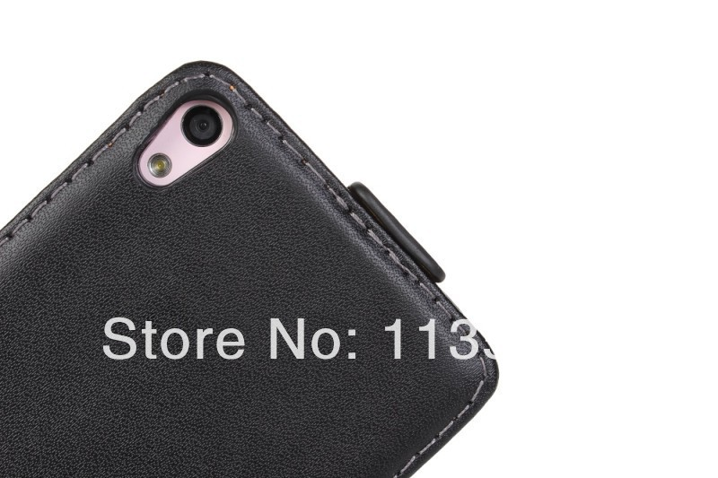10pcs/lot Ascend P6 Case, Mobile Phone Leather Flip Cover Case Pouch For Huawei Ascend P6  free shipping