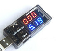 5PCSnewest USB Current Voltage Tester USB Voltage Ammeter USB Detector Double Row Shows New Factory price