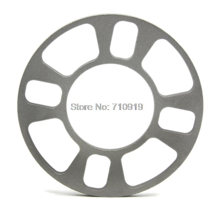 TIROL T12850a Universal Wheel Spacer 4 hole 8mm thick Aluminum Wheel adapter fit 4 lug 4x101.6 4x108 4x112 4x114.3 FREESHIPPING(China (Mainland))