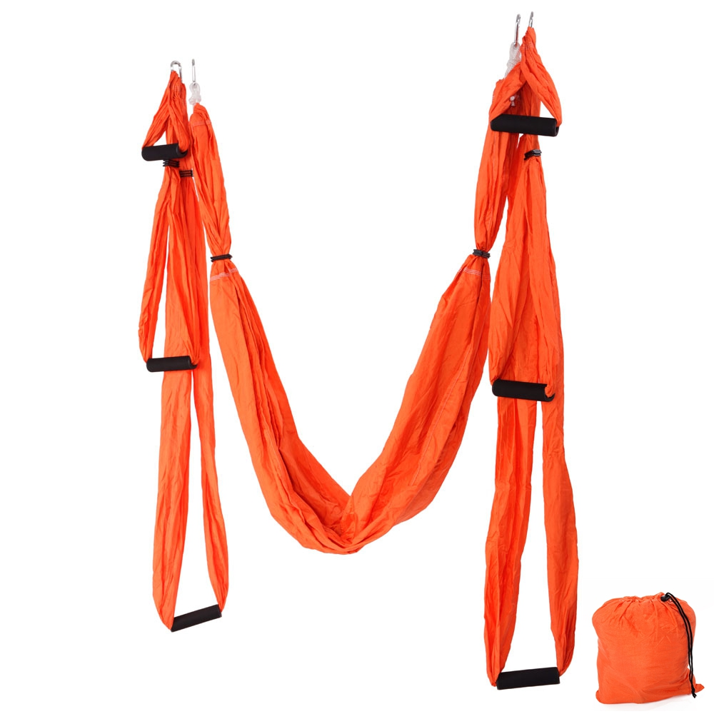 Anti-Gravity Aerial Yoga Hammock Swing Latest Multifunction Anti-gravity Yoga hamac belts for yoga training Yoga swing  89012661