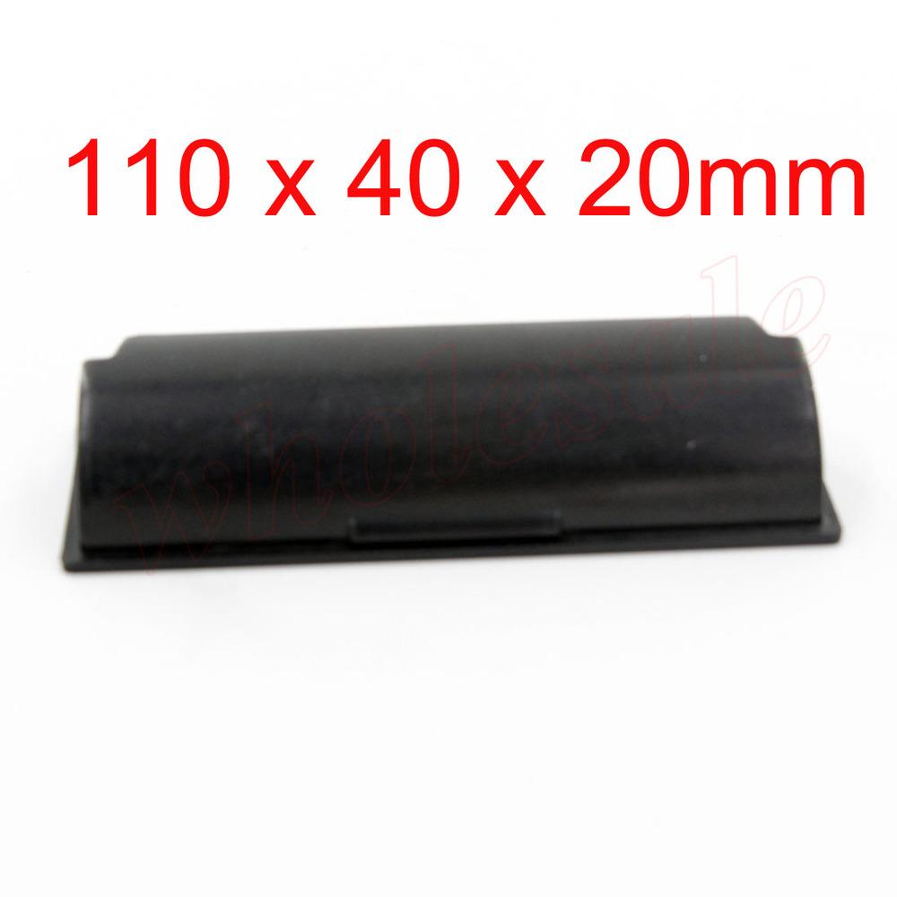 40PCS/Lot Black 4# Handle Rectangle  Cabinet Drawer Flush Pull<br><br>Aliexpress