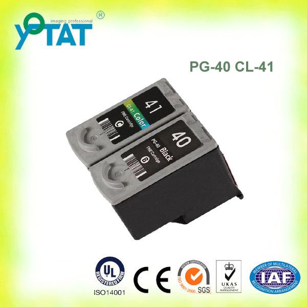 Картридж с чернилами YOTAT 1set pg/40 cl/41 CL41 PG40 Canon PIXMA IP2500 IP2600 MX300 MX310 MP160 MP140 MP150 PG-40 CL-41