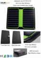Solarparts New Arrival 1x 5V 10W ETFE lamianted all in one high efficiency portable solar charger