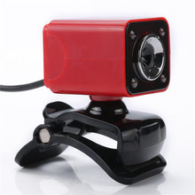 Buy HD 12M CMOS Webcam Camera 360 Rotating USB Webcamera Sound Absorbing Microphone MIC Android TV Computer PC Laptop for $8.88 in AliExpress store