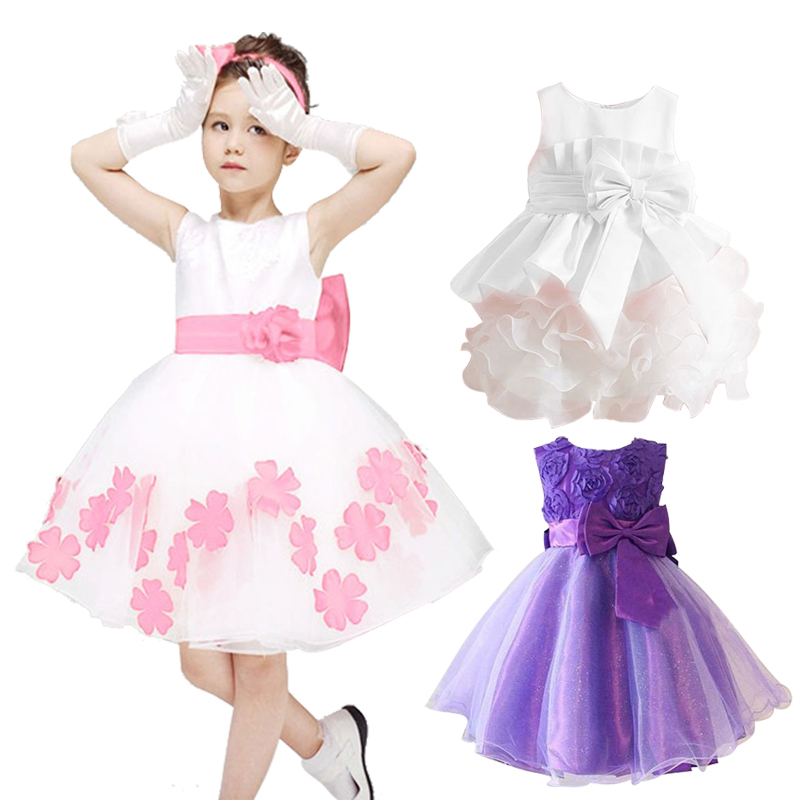 New elegant dress party baby girl dress fashion princess