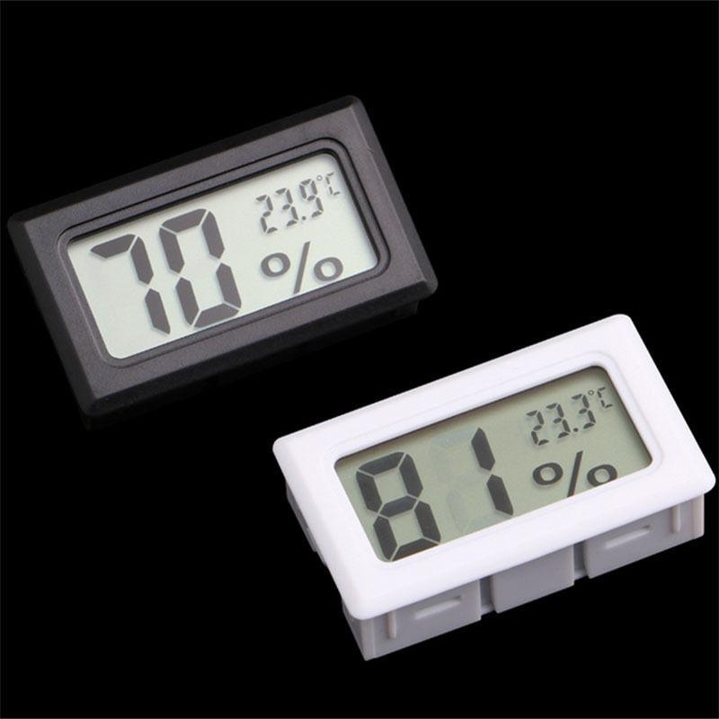 Гаджет  Mini Digital LCD Indoor Temperature Humidity Meter Thermometer Hygrometer Gauge None Инструменты