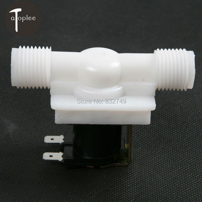 US USA Stock Warehouse Solenoid Valve Coil DC 12V Electric Solenoid Valve Normally Closed N/C Water Inlet Flow Switch 0 - 0.8Mpa(China (Mainland))