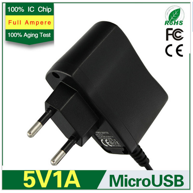 Universal Power Supply Charger Adapter Micro usb cable 5v 1a adaptor 1000mA EU Plug For Samsung Galaxy S3 S4 Note2(China (Mainland))