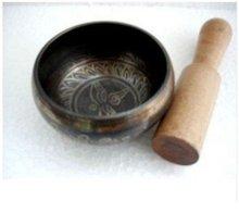 Tibet Bronze Singing Bowl Buddha gong free shipping