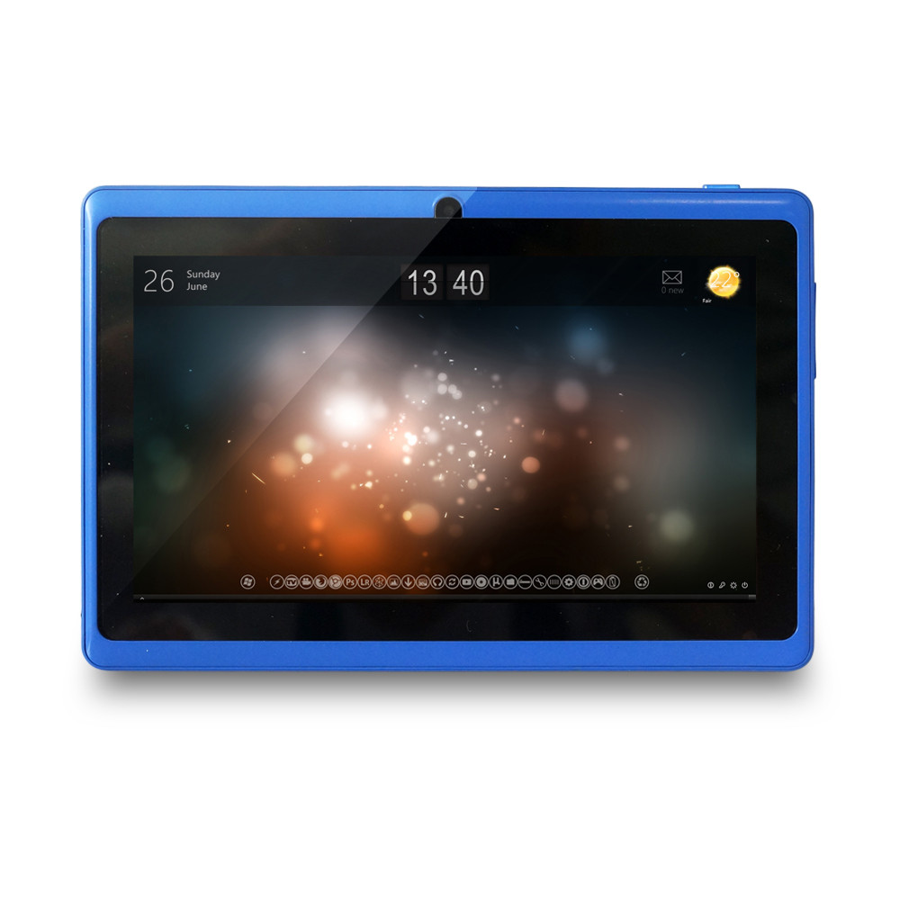 Cheap Tablet PC A33 Q88 – A33 MID -7 inch Cap acitive Screen + Android 4.4 +Quad Core Dual Camera + Wifi + 1.5GHz Ultra-thin