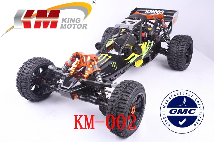 KM BAJA 5b 1/5 SCALE 29CC GAS Powered Engine RC Car/Truck Top Speed 80km/h