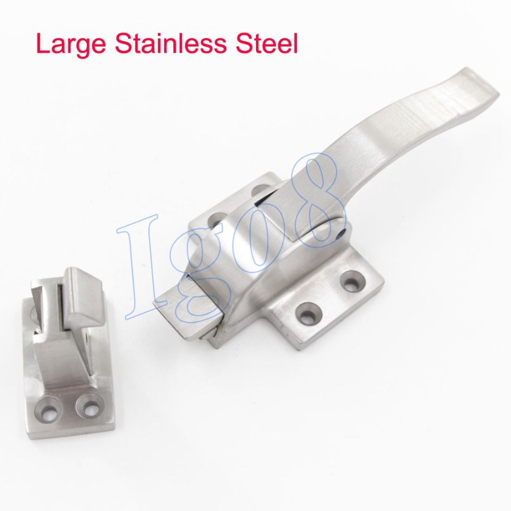 Stainless Steel Large Oven Door Lock Pull Handle Latch(China (Mainland))