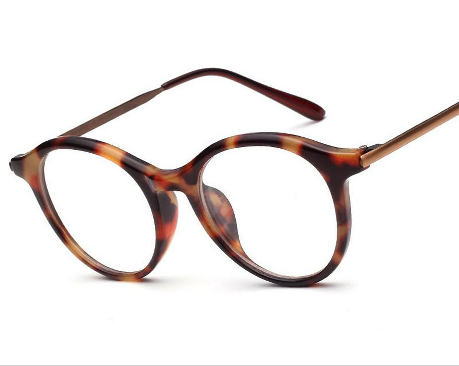 Metal Eyeglass Frame Materials : Ultralight super toughness TR90 material plain mirror ...