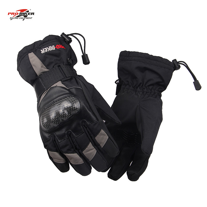 PRO-BIKER Full Finger Protective Gear Motorcycle Gloves Moto Racing Gloves Guantes Motorbike Gloves Luvas Ski Snowboard Gloves(China (Mainland))