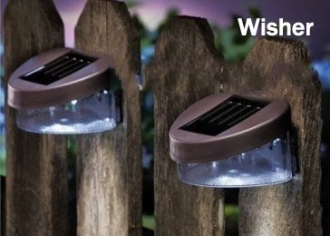 buy best outdoor garden decoration solar fence light solar wall light