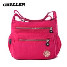 Hot !!!Women Messenger Bag Nylon Women Bags Shoulder Crossbody Bags Fashion Ladies Handbags 9 color School Bags Sac A Main AC001(China (Mainland))