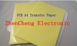 Free shipping 50pcs/LOT PCB circuit board thermal transfer paper PCB transfer paper A4 size(China (Mainland))
