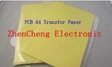 Free shipping 50pcs/LOT PCB circuit board thermal transfer paper PCB transfer paper A4 size(China (Mainland))