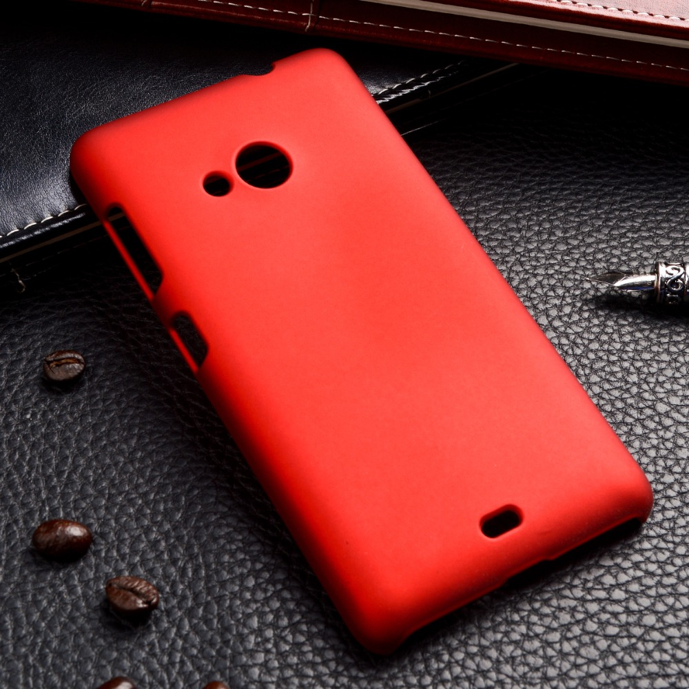 capa para 535 Phone Cases For Microsoft Nokia Lumia 535 N535 5 inch Cases Housing Shell Skin Cover Oil-coated rubber shell bag(China (Mainland))