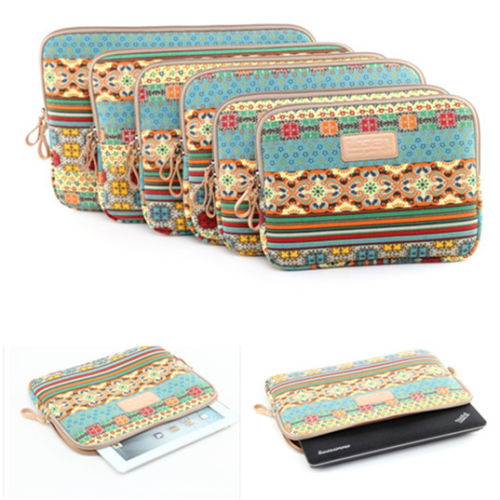 Computer Bag Notebook Smart Cover For ipad MacBook Bohemia Sleeve Case 11 12 13 15 inch Laptop Bags For ipad 2 3 4 5 mini Air(China (Mainland))