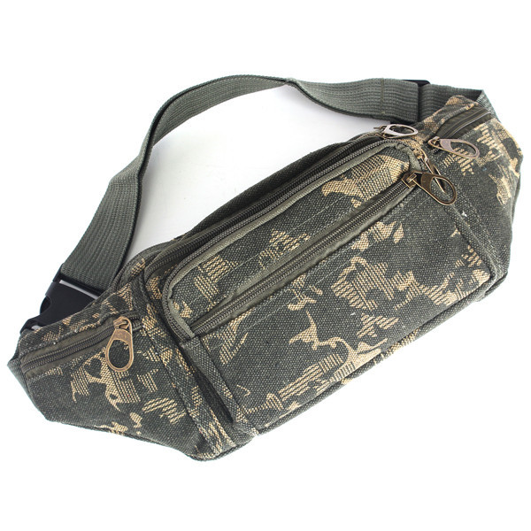 2015 Canvas Sport Waist Packs Man Jogging Fitness Climbing Bag Pouch Money Belt Fashion Men Pack