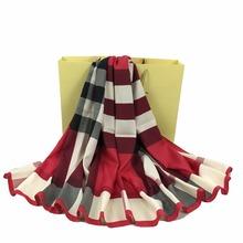 130*130 cm Bandana Women Fashion Print Silk Scarf Luxury Brand Elegant Design Foulard High Quality Cachecol SBK034(China (Mainland))