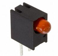 LED Circuit Board Indicators LED 3MM CBI RA ORANGE PCB Diffused 600nm, 7mcd 10mA 2.2V Dialight 551-2507F(China (Mainland))