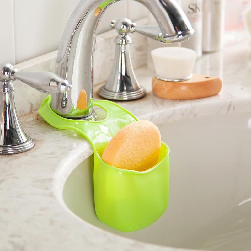 1 PCS/lot Sponge storage Rack Over Sink Saddle Organizer Shelf Item Gear Accessories Supplies Products Kitchen Bath Gadgets(China (Mainland))