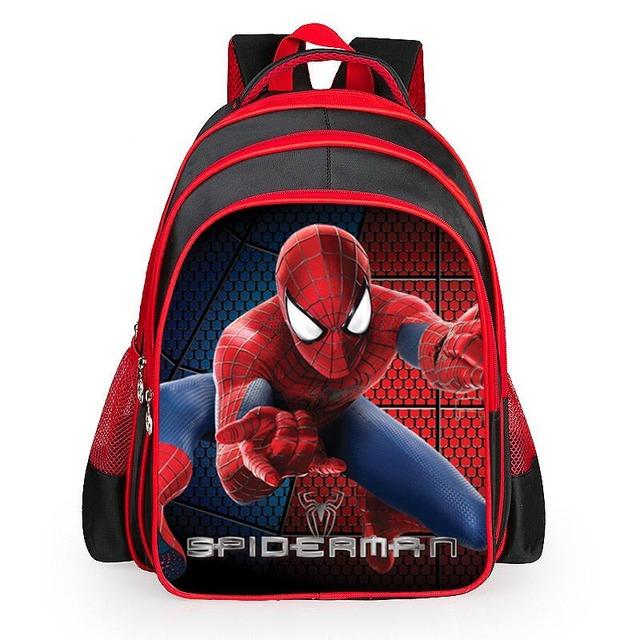 Мальчики-паук мультфильм сумки учеников классов 1 - 6 плечи бремя дети школьников ...