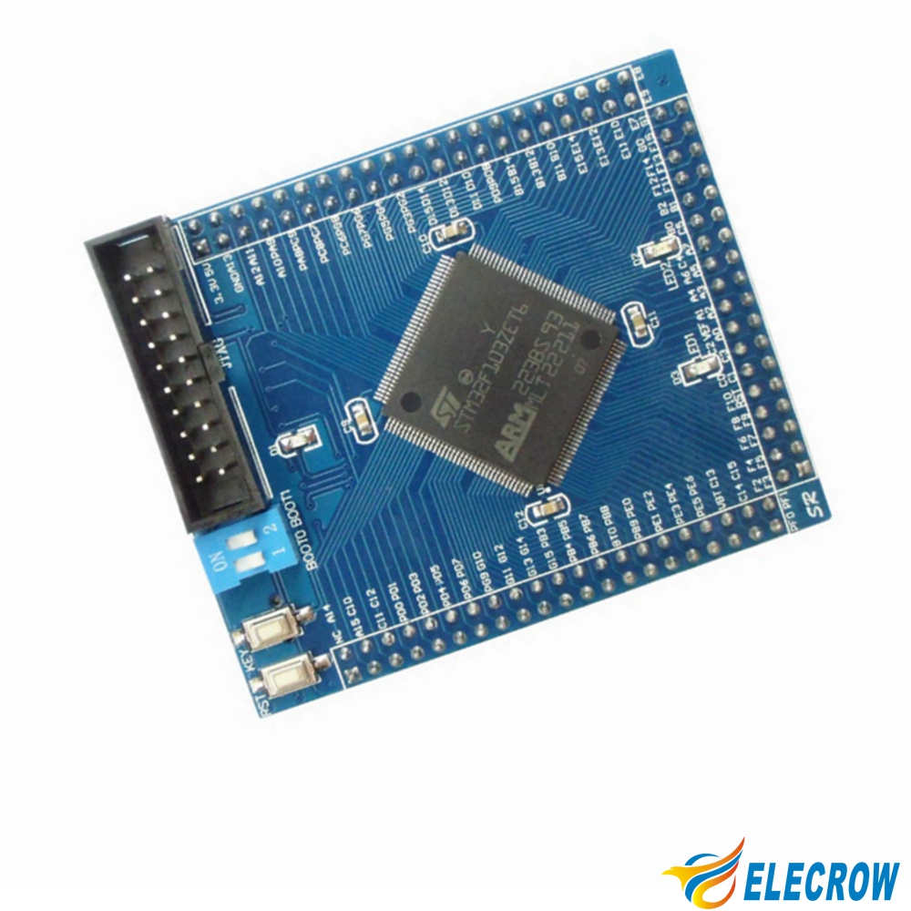High Quality STM32F103ZET6 Minimum System Board for Develpment Integrated Circuits DIY Kit Open Source Free Shipping(China (Mainland))