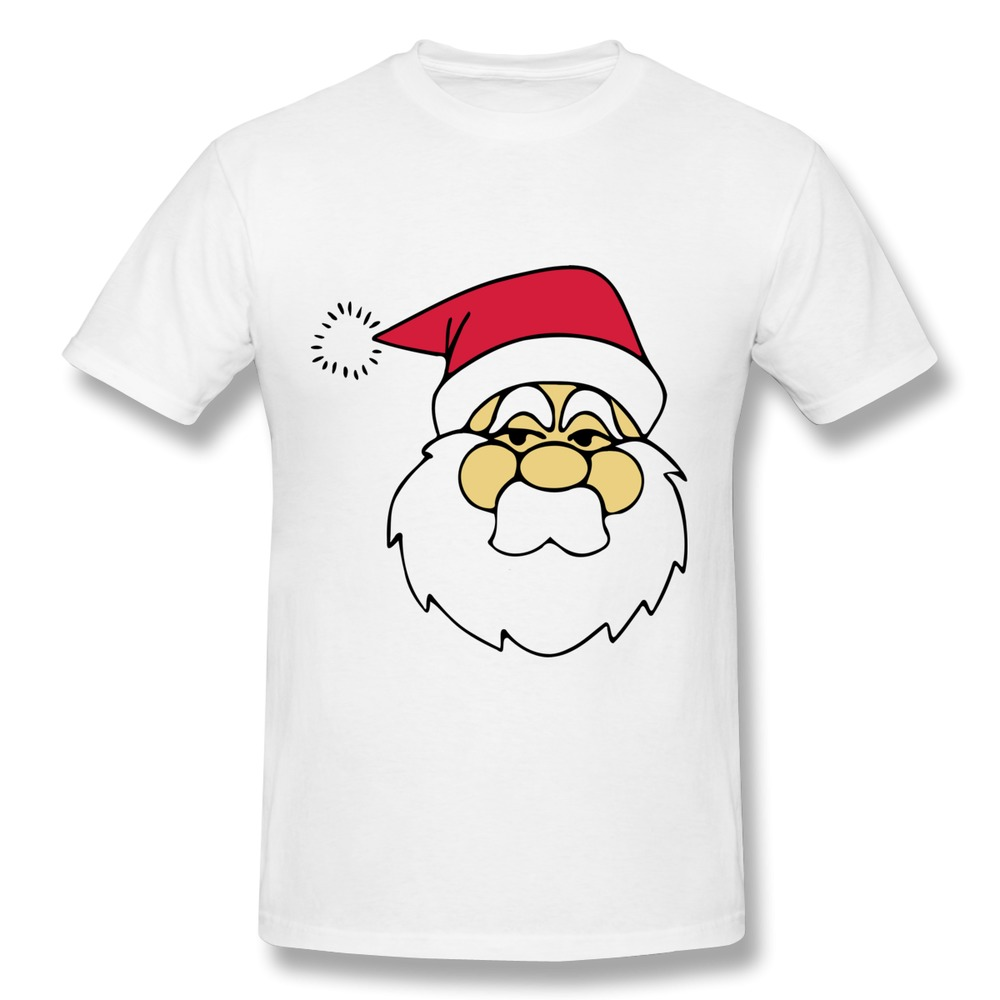 Customize Regular Mens T Shirt zeimusu santa line art Funny Pics Men T Shirts 2014 Style(China (Mainland))