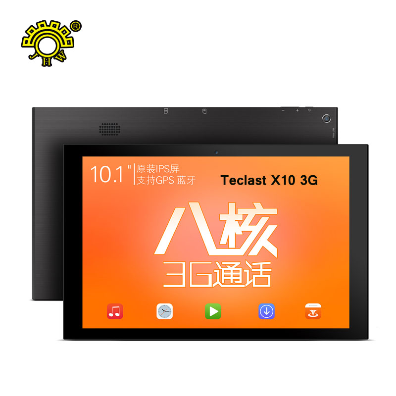 """10.1"""" Teclast X10 3G GPS Tablet PC Android 5.1 MT8392 Octa Core A7 1GB Ram 16GB ROM 1280x800 IPS G+G Screen WCDMA/GSM 2.4G+5G(China (Mainland))"""