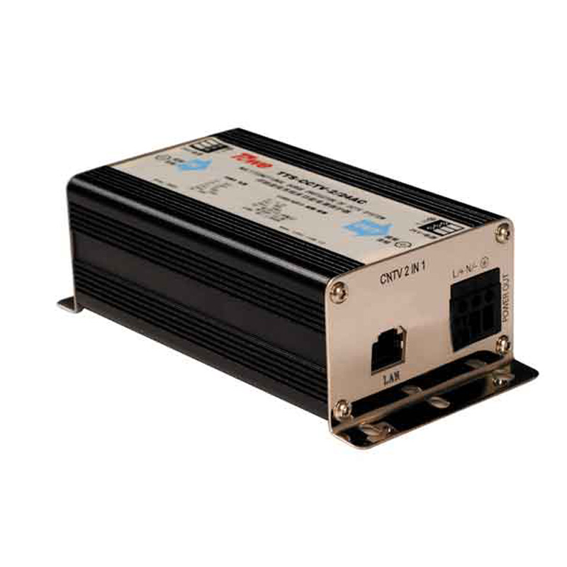 TOWE AP-CNTV-2/24AC Protect the camera network / 2 in 1 24VAC DC power supply lightning protection