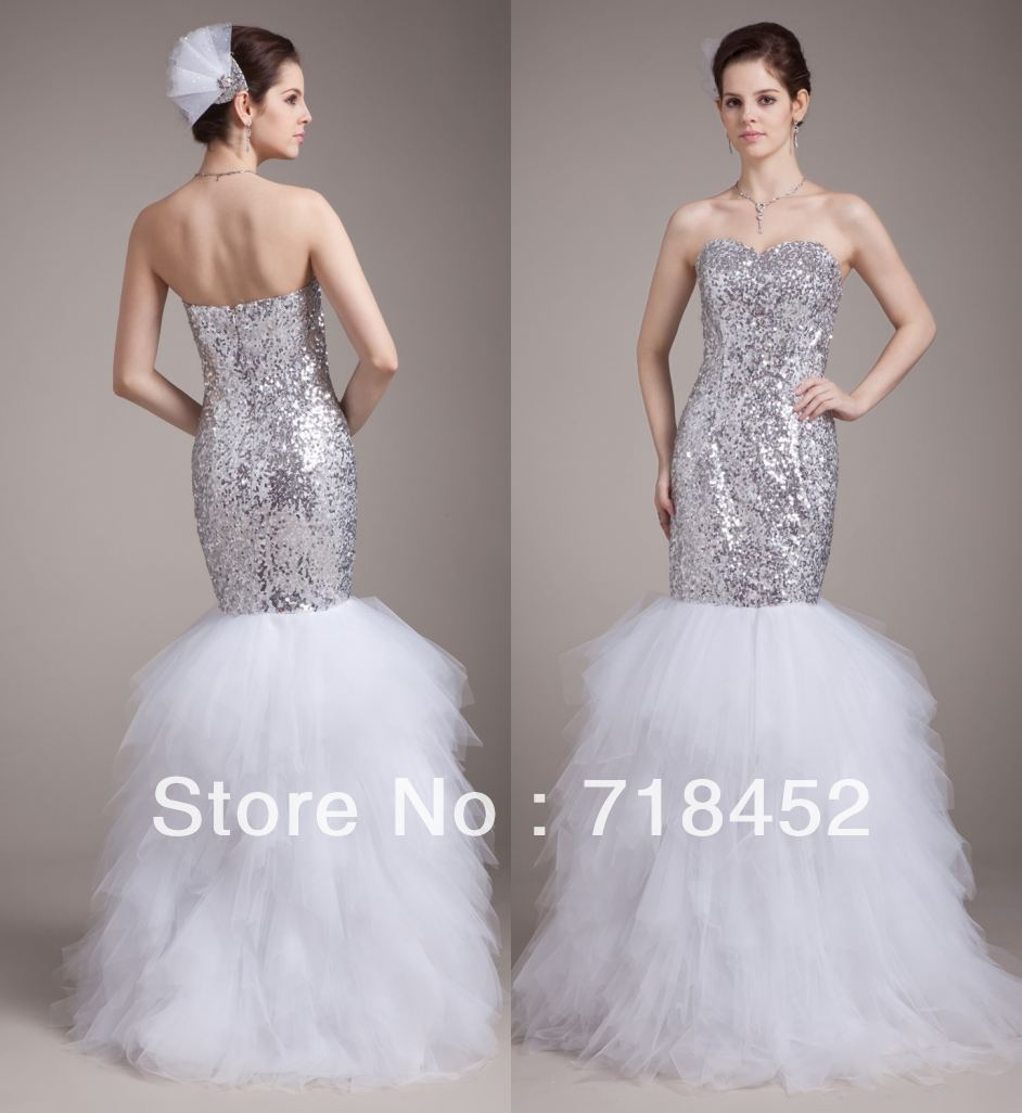 Bling Wedding Dresses 2013 2013 Mermaid Wedding Dress