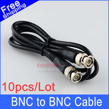 10pcs 1M(3ft) RG59 Coaxial extend Cable BNC male to BNC male for CCTV Camera  M/M
