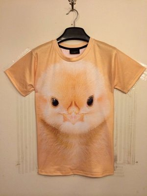 2015 Summer cotton short sleeve brand men t-shirts Sport clothing chicken T shirts slim design plus size M - 2XL(China (Mainland))