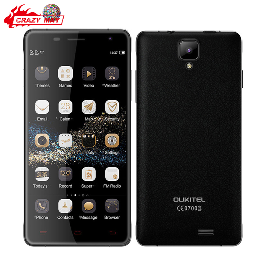 "Original OUKITEL K4000 Pro 5.0"" 1280*720 4G LTE Cell Phone Android 5.1 MTK6735 Quad Core 2GB RAM 16GB ROM 8.0MP 4600mAh OTG(China (Mainland))"