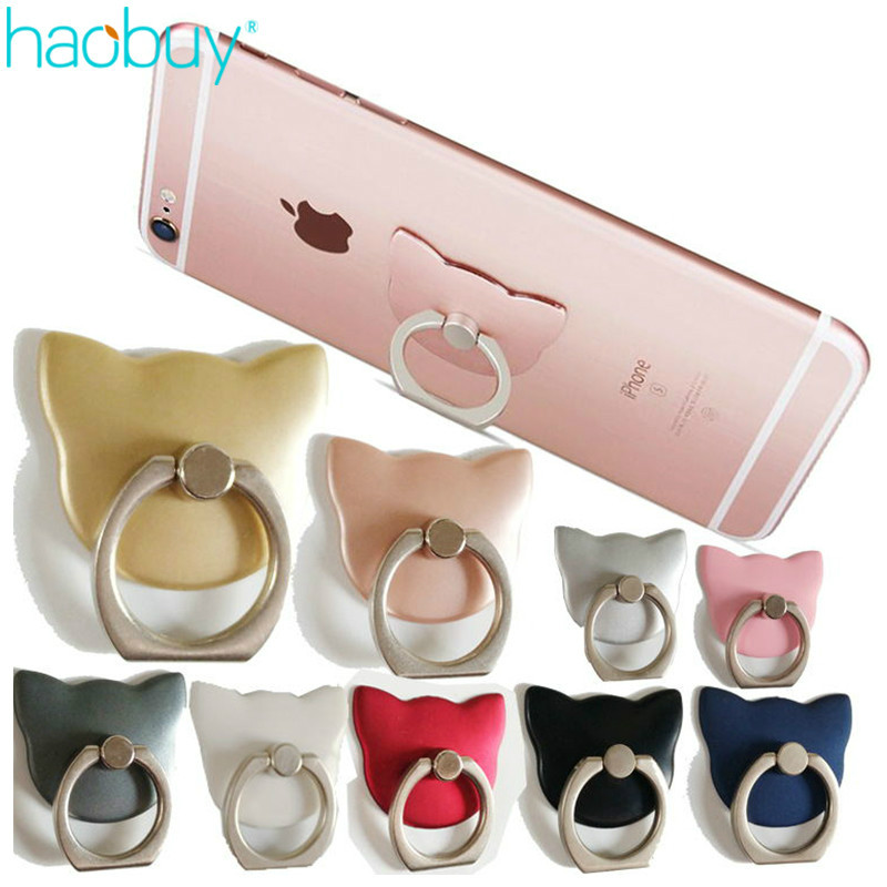 Universal 360 Degree Pop Cat Finger Ring Socket Mobile pop socket Phone Ring Holder For iPhone iPad Xiaomi All SmartPhone Stand(China (Mainland))